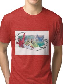 pokemon latios and latias Tri-blend T-Shirt