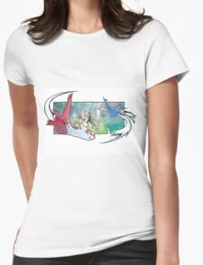 pokemon latios and latias Womens Fitted T-Shirt