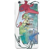 pokemon latios and latias iPhone Case/Skin