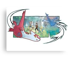 pokemon latios and latias Canvas Print