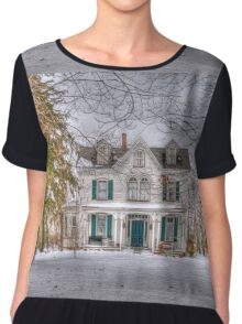 Carriage and House Chiffon Top