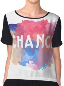Chance Cloud Chiffon Top
