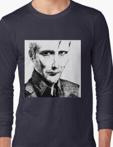 Mads Mikkelsen Long Sleeve T-Shirt