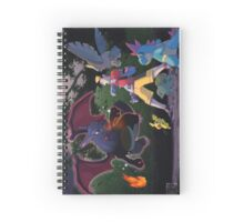pokemon dark charizard Spiral Notebook