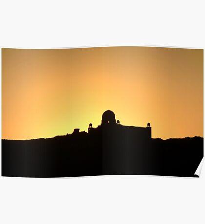 Egyptian Sunset Poster