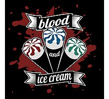 Blood & Ice Cream - Colour Photographic Print