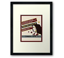 Anya's Revolution Framed Print