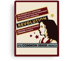 Anya's Revolution Canvas Print