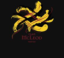 Clan McLeod - Prefer your gift on Black/White, let us know at info@tangledtartan.com Unisex T-Shirt