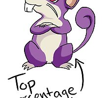 Top Percentage Rattata by Gengstar