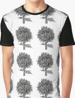Flowers In Your Hair - White Graphic T-Shirt