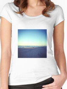 beach Women's Fitted Scoop T-Shirt