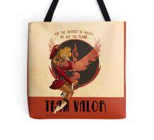 Team Valor Tote Bag