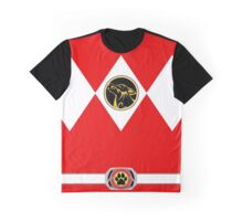 Pupper Rangers (Red) Graphic T-Shirt