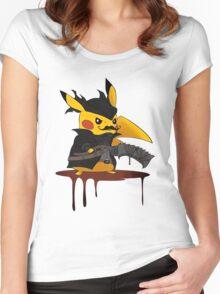 pokemon bloodborne Women's Fitted Scoop T-Shirt