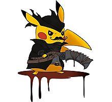 pokemon bloodborne Photographic Print