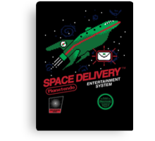 Space Delivery Canvas Print