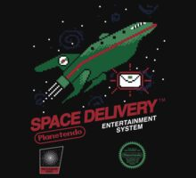 Space Delivery One Piece - Short Sleeve