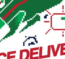 Space Delivery Sticker