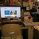 My Computer Heaven...(or Hell, depending...) by WildestArt
