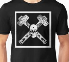 Calaveras demolition whith Hummers pirata black & white Unisex T-Shirt