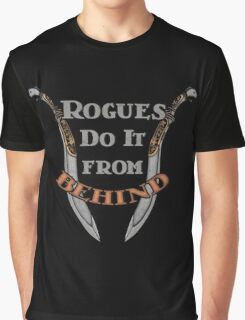 D&D TEE - ROGUES DO IT Graphic T-Shirt