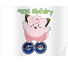 035 Clefairy GO! Poster