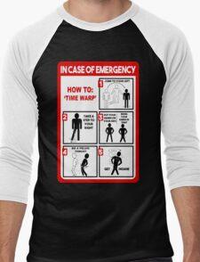 How To: Time Warp Men's Baseball ¾ T-Shirt