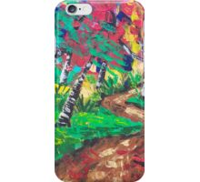 Whimsical Woods Abstract iPhone Case/Skin