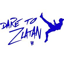 Dare to Zlatan in Manchester Away Photographic Print