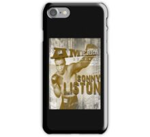 SONNY LISTON iPhone Case/Skin