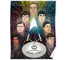 To Boldly Go Poster