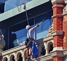 When I'm Cleaning Windows! by lezvee
