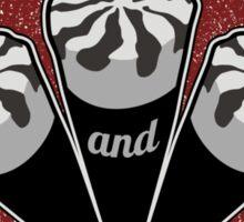 Blood & Ice Cream - Silver Variant Sticker