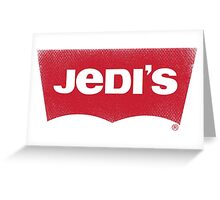Jedi's Greeting Card