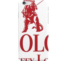 Solo Scruffy Lookin iPhone Case/Skin