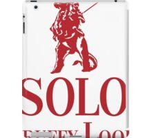 Solo Scruffy Lookin iPad Case/Skin