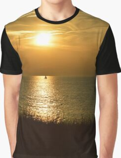 Sunset Sail 2 Graphic T-Shirt
