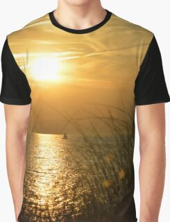Sunset Sail 1 Graphic T-Shirt