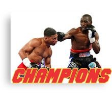Terence Crawford champions Canvas Print
