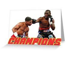 Terence Crawford champions Greeting Card