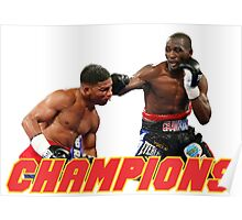 Terence Crawford champions Poster