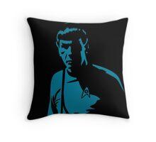 Spock Shadow Throw Pillow