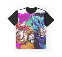 DBZ Goku and Vegeta Graphic T-Shirt