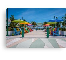 Lauderdale by the Sea entrance - Florida Canvas Print