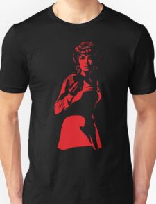 Uhura Shadow Unisex T-Shirt