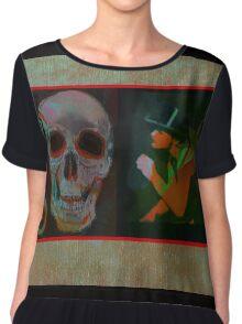 Macabre Women's Chiffon Top