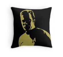 Kirk Shadow Throw Pillow