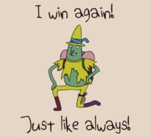 I Win Again, Just Like Always! (Magic Man, Adventure Time) by jezkemp