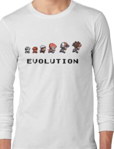 Pokemon evolution - Classic Long Sleeve T-Shirt